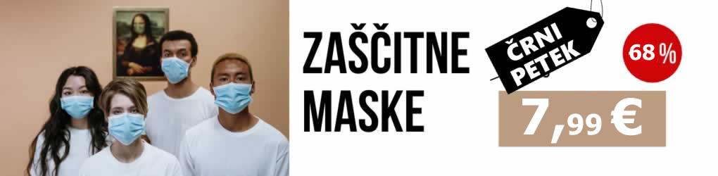 Zaščitne maske - higijenske maske