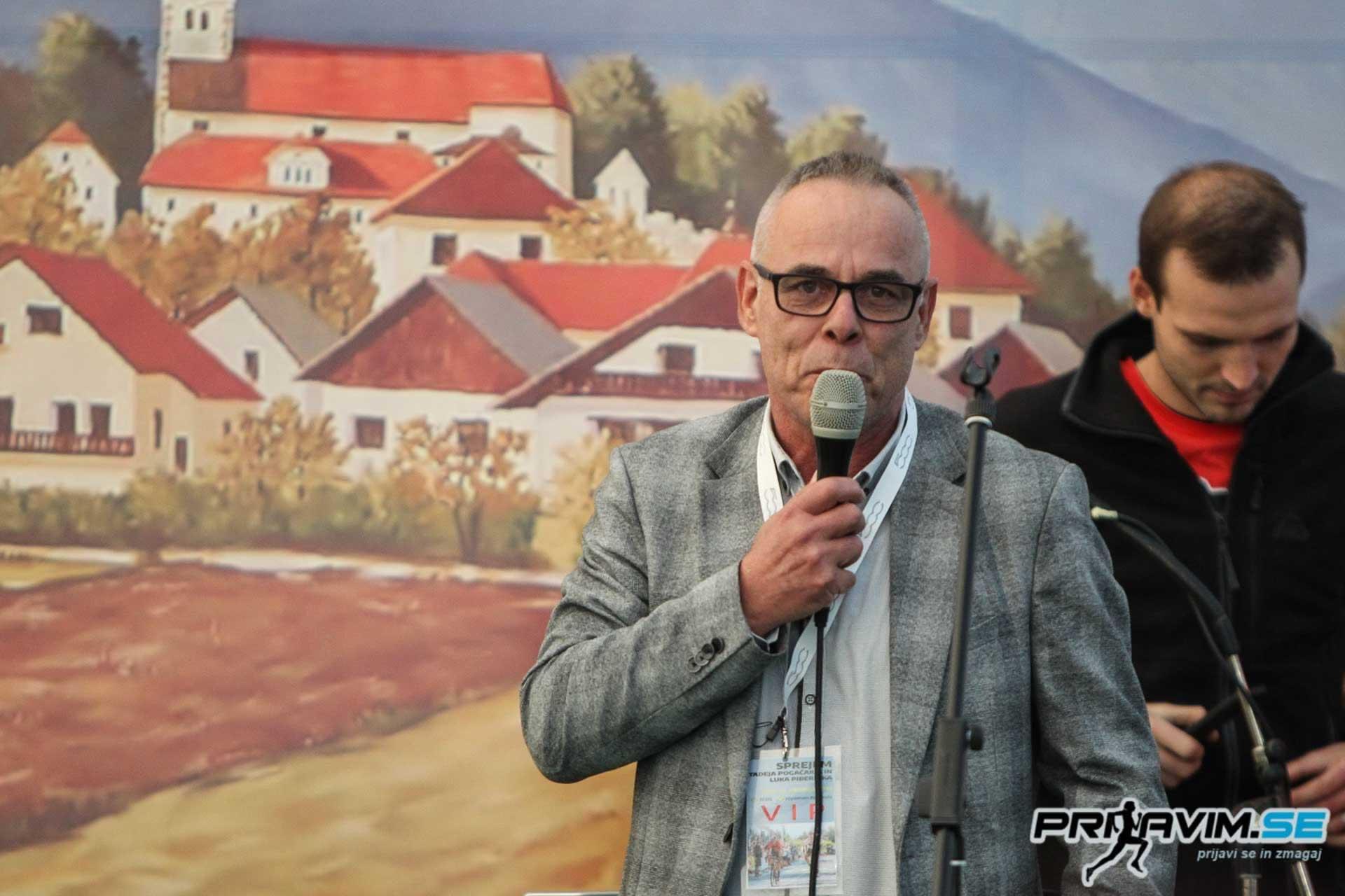Župan Stanislav Poglajen