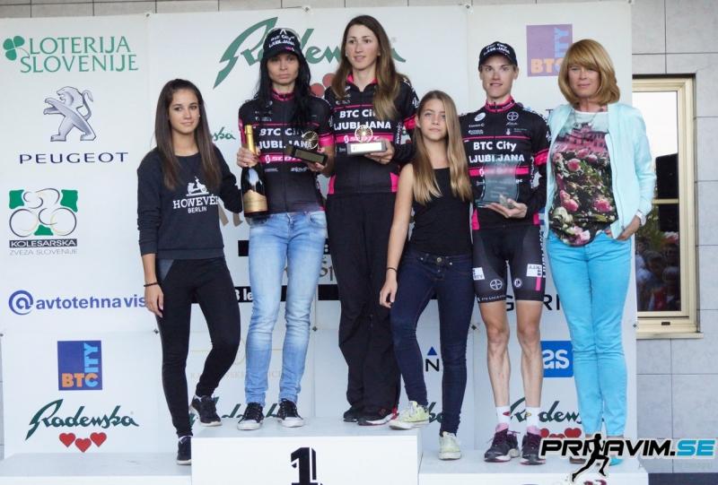 Podelitev zlato kolo - ženske elite