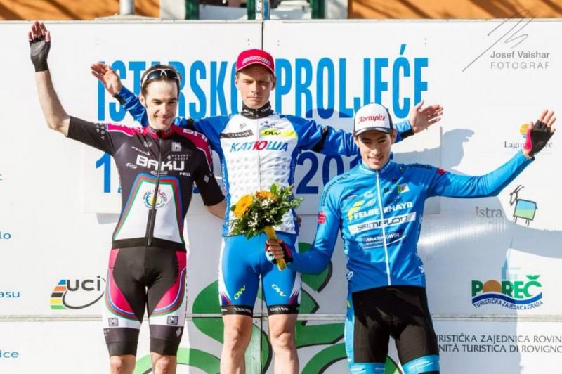 Marko Kump na 5. mestu v prvi etapi dirke Istarsko proljeće