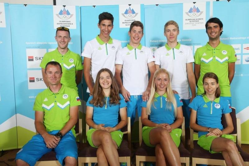 Mladi kolesarji nared za Tbilisi