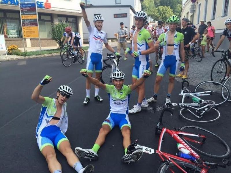 Dvojna slovenska zmaga na tretj etapi ASKÖ-ARBÖ Radjugendtour