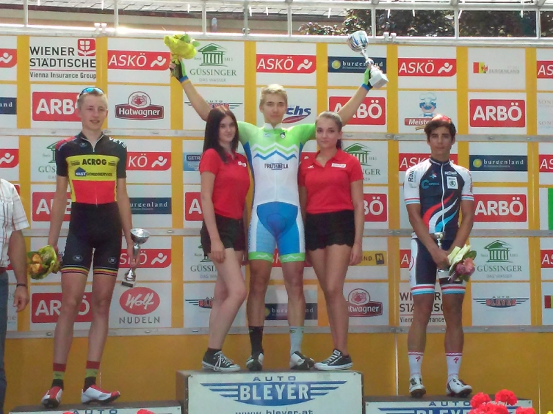 Luka Sagadin zmagal na 5. etapi