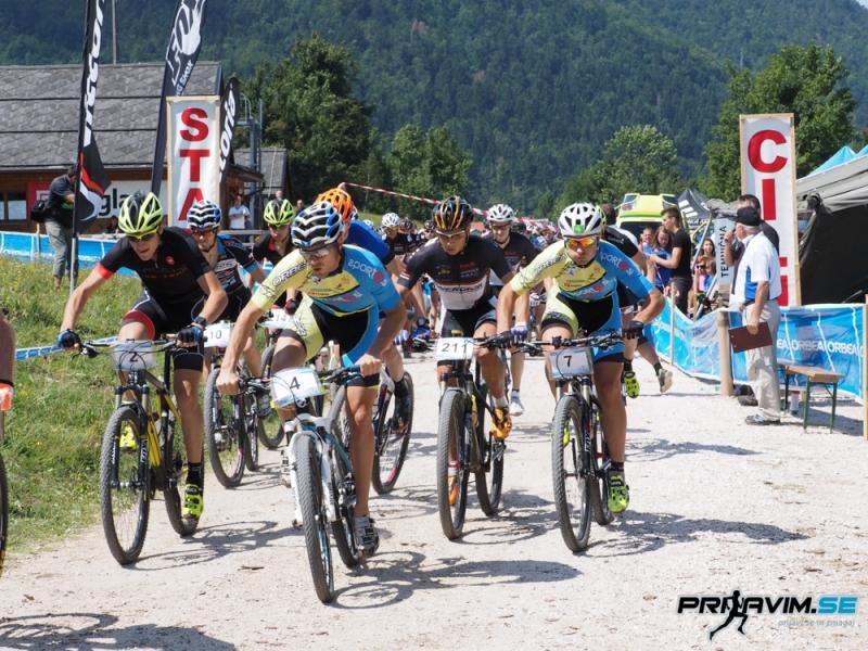 XCC Črni vrh - start