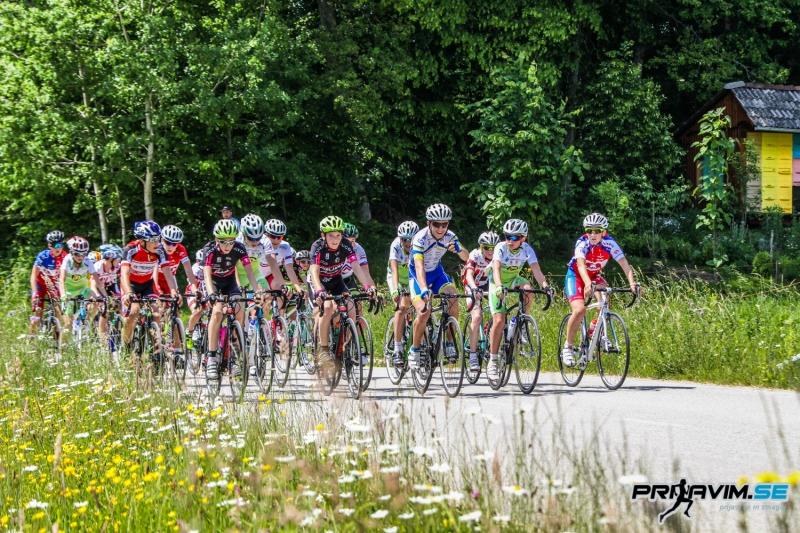 Cestni kolesarji so se pomerili v Trsteniku