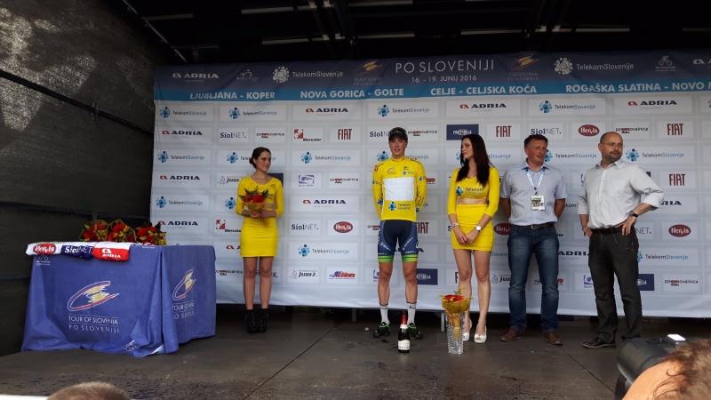 Zmaga na prvi etapi dirke po Sloveniji