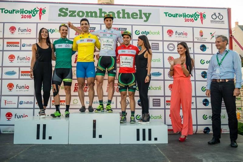 Prolog dirke po Madžarski Otoničar zaključil na tretjem mestu