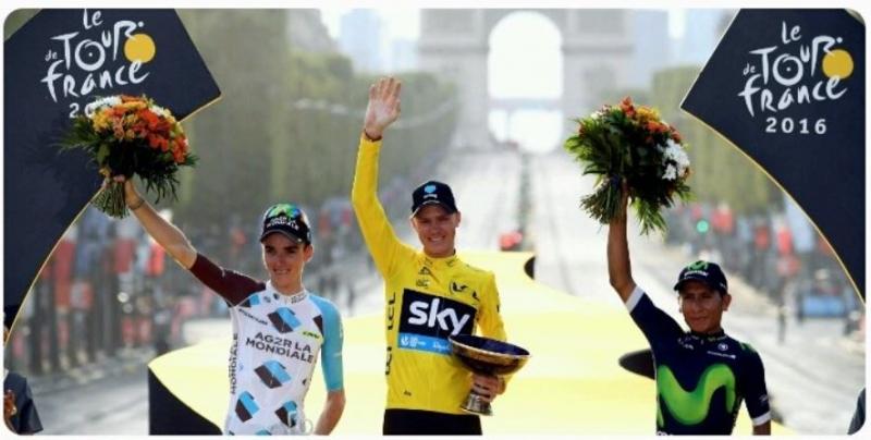 Končan Tour de France