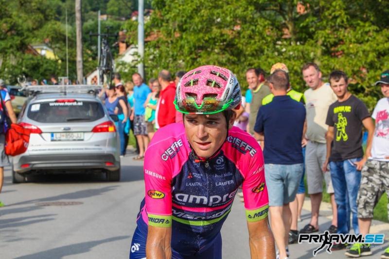 Luka Pibernik zmagovalec 6.etape Eneco Toura