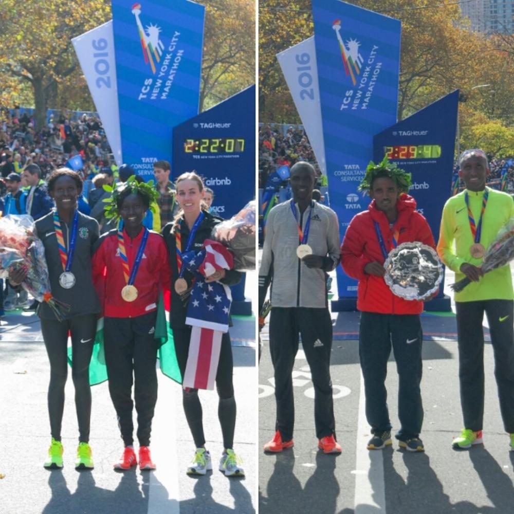 NY maraton osvojila Eritrejec in Kenijec