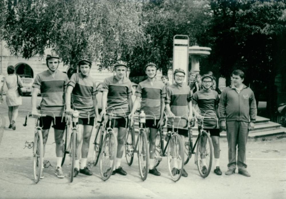 Nekdanji kolesarji novomeškega kluba