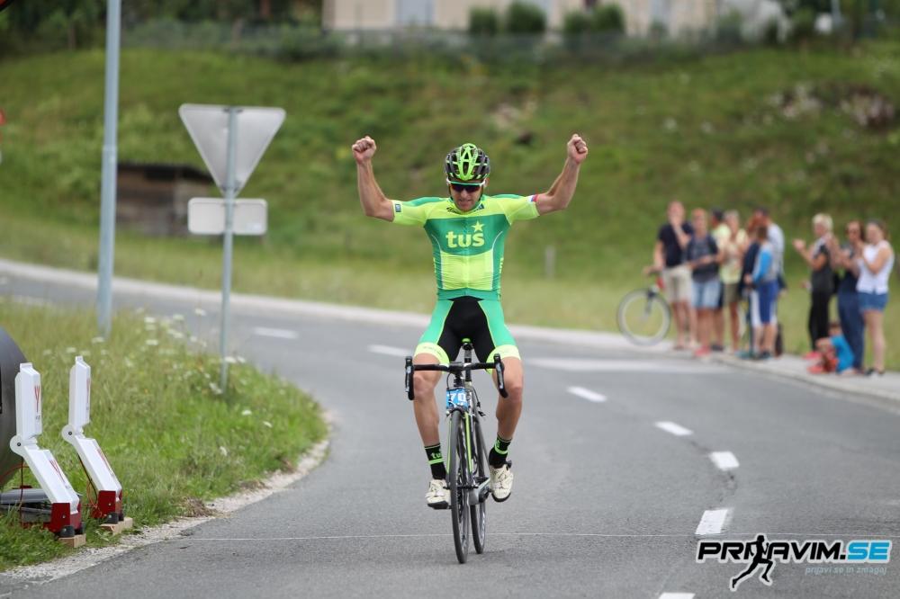 Matej Lovše zmagovalec Maratona Alpe