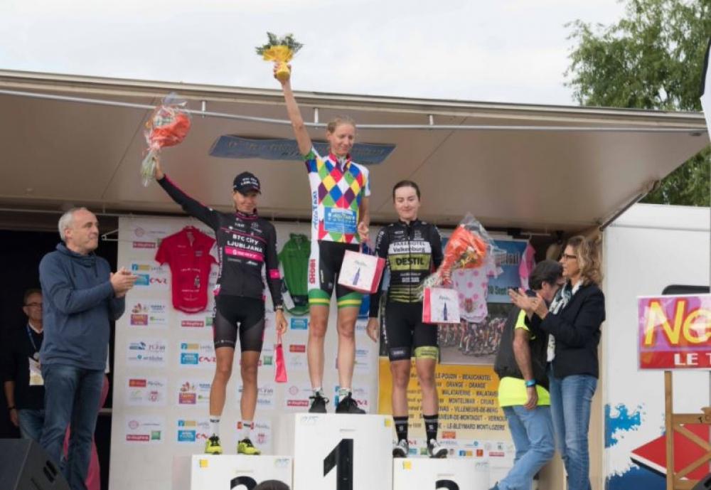 Nilssonova druga na dirki Tour de l'Ardeche
