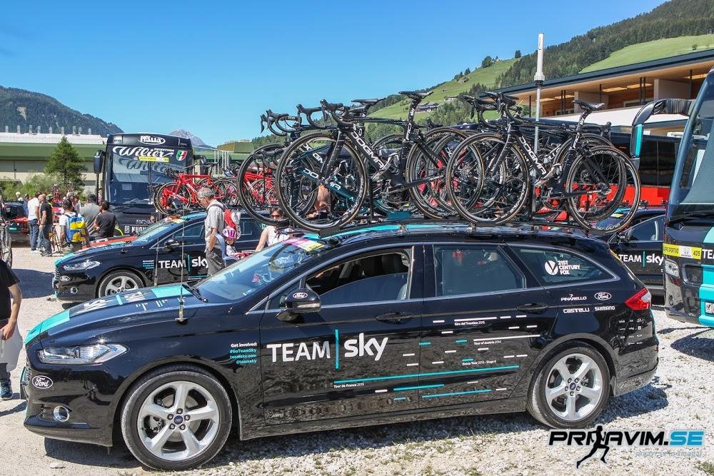 Ekipa Sky pride na Giro