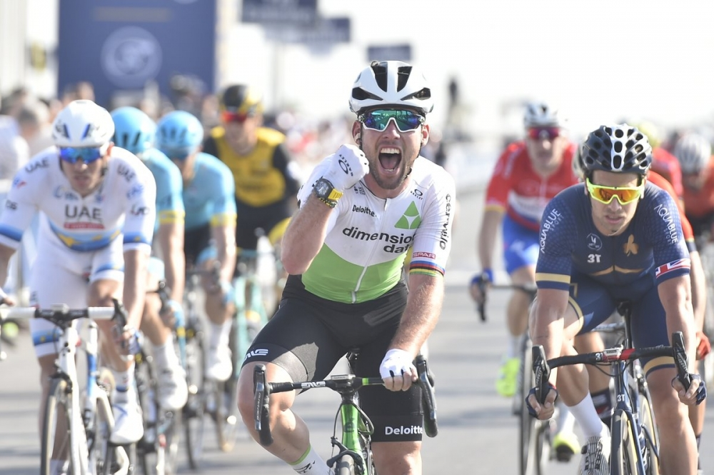 Cavendish do zmage - Dubai Tour