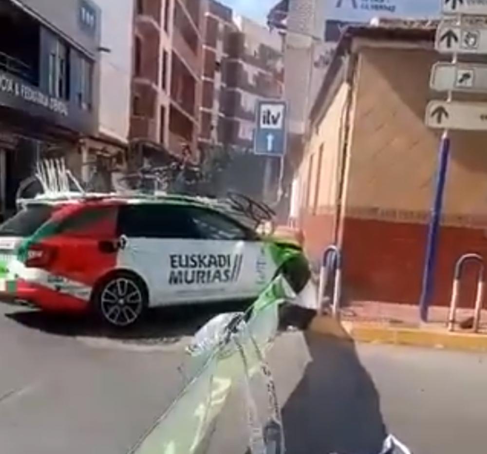 Nesreča na Vuelti