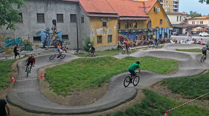 Pumpaj Slovenija: Na vrsti je bila Ljubljana